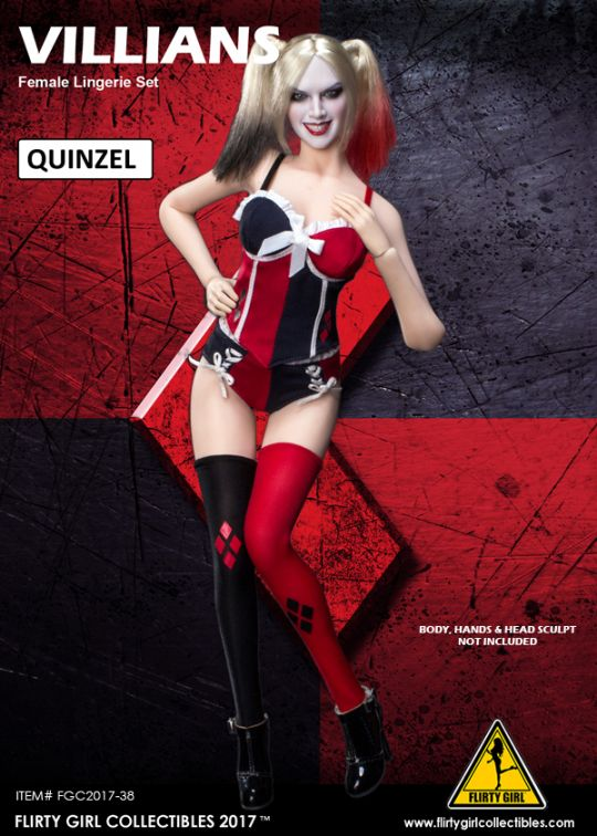 Set Villains Quinzel