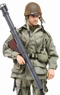101st Airborne Division France 1944 - Private 1st Class Jim US Paratrooper Bazooka