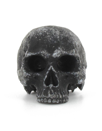 Headsculpt black skull