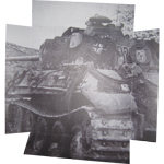 Panzer Diorama Background (Grey)