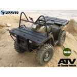 Quad ATV All-Terrain Vehicle (Olive Drab)