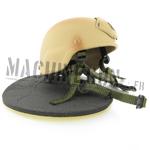 MICH2000 Tan helmet w/ NVG mount