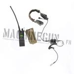 Radio AN/PRC-148 w/ pouch & radio helmet