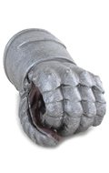 Armored Gloved Left Hand (Grey)