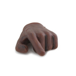 Main gauche gantée (Marron)