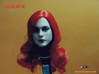 Headsculpt Red Haired Beauty