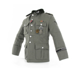 M36 officer jacket with insignia