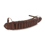 Leather ammo belt