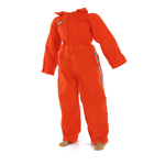 Workman s jumpsuit orange