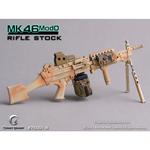 Mitrailleuse MK46 MOD0 crosse pleine (Désert)