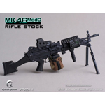 MK46MOD0-rifle stock (black)