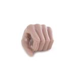 Main gauche femme européenne (Type C)