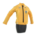 Female Biker Jacket (Yellow)
