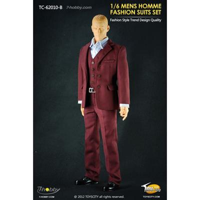 set costume fashion homme bordeaux machinegun. Black Bedroom Furniture Sets. Home Design Ideas