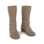 Cowboy Boots (Brown)Beige