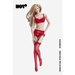 Set lingerie sexy Femme (Rouge)