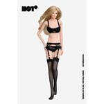 Set lingerie sexy Femme (Noir)