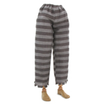 Striped Prisoner Pants (Grey)