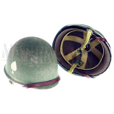 worn 101st airborne helmet easy compagny