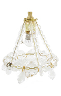 Light Up Chandelier (Transparent)