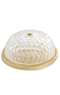 Round Light Up Roof Lamp (Transparent)