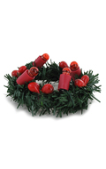 Light Up Christmas Wreath (Green)