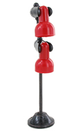 Light Up 2 Spots Roof Lamp (Red)