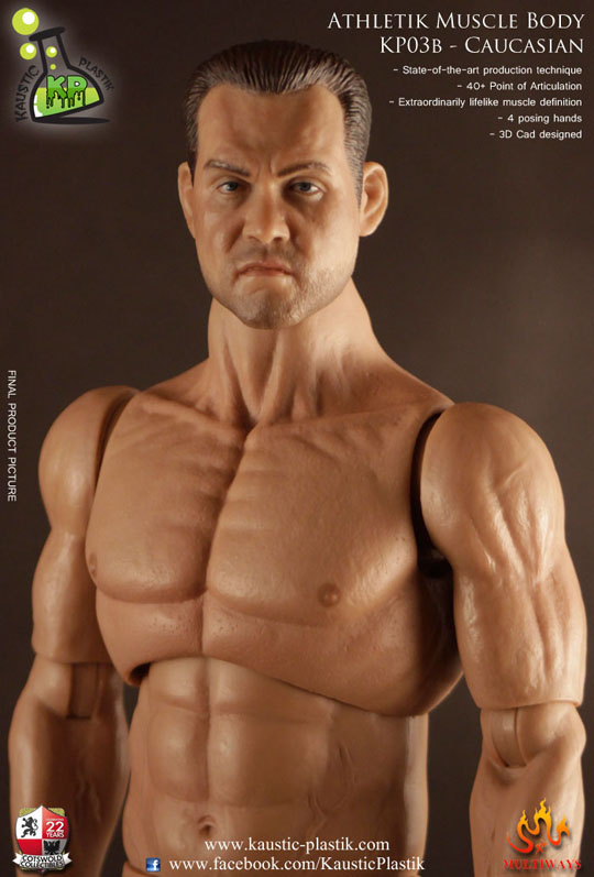 figurine 1 6 corps athletik muscle homme europ en. Black Bedroom Furniture Sets. Home Design Ideas
