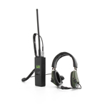 Radio with SORDIN Headset with TEA PTT switch