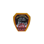 Patch Fire Department City Of New York (Noir)