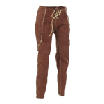 Female Velvet Pants (Brown)