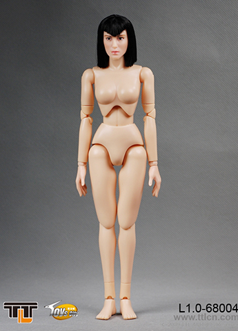 Female Body L1.0 with head (Type A)