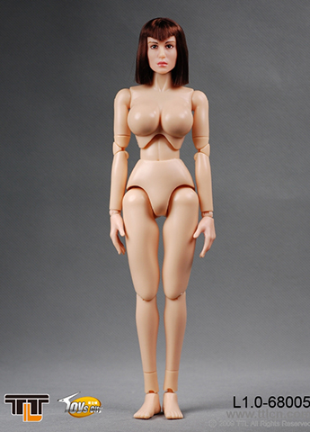 Female Body L1.0 with head (Type B)