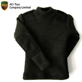 Round Neck Sweater (Black)