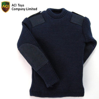Round Neck Sweater (Navy Blue)
