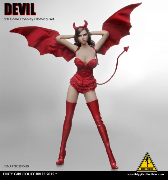 Set vêtements Devil Femme