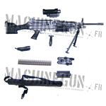 M249 SAW w/ Equipment