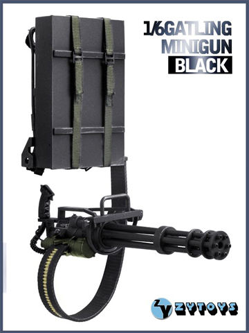 Gatling Minigun (Black)