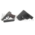 Walther PPK w/ silencer and holster