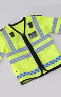 Police High Visibility NPU Jacket (Yellow)