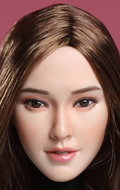 Asian Female Headsculpt (Chestnut)