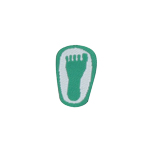 Flat foot patch