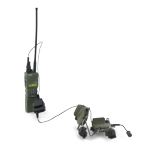 PRC 152 radio with COMTAC 3 headset