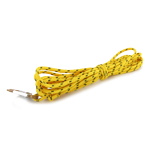 Rappelling Cord with Carabiner (Yellow)