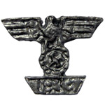 Diecast 1939 Bar to the Iron Cross 1st Class Badge (Silver)