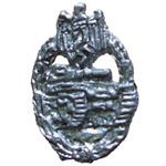 German Panzer Assault Badge Silver level