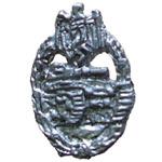 German Panzer Assault Badge Silver level
