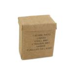 7,62mm Cardboard Ammo Link Box (Beige)