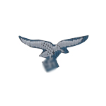 Luftwaffe Chest Eagle (Blue)