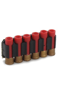 M870 Rifle Bullet Holder with 6 Bullets (Red)